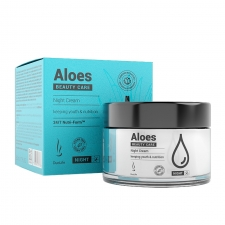 Detail produktu krém Duolife Beauty Care Aloes Night Cream