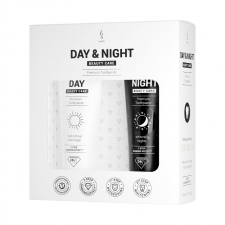 Detail produktu Sada zubnej pasty Duolife Day & Night Beauty Care